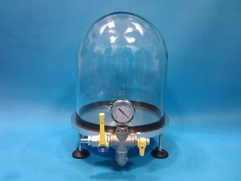 vacuum bell jars cylinders 39 l 39 gaskets vacuum bell jar